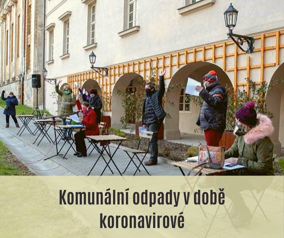 Image for Komunální odpady v době koronavirové